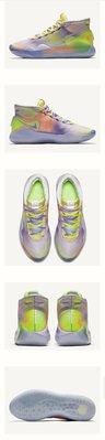 Nike Zoom KD 12 The Nationals 彩色 鴛鴦 混色 撞色 水彩 潑墨 Be True FMVP 籃網 男鞋 男段 男碼 各尺寸