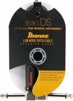 ☆ 唐尼樂器︵☆ IBANEZ DSC 低雜音系列電吉他/電貝斯/ Bass 效果器15公分短導線((缺貨中)
