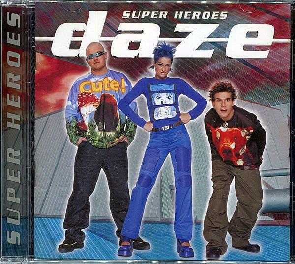 【塵封音樂盒】發暈合唱團 DAZE - 超級英雄 Super Heroes