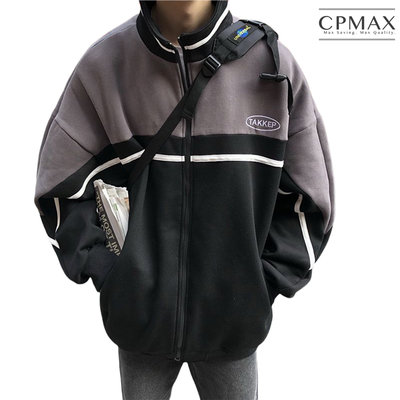 CPMAX 韓系型男立領外套 學院風夾克 夾克外套 防風外套 外套 夾克 男生衣著 韓系外套 立領外套 男外套 C164