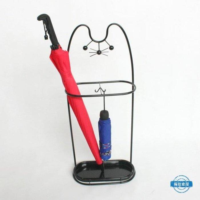 [免運]創意雨傘架家用鐵藝傘筒雨傘桶收納桶落地式折疊放傘架子wy❥『小果樹』
