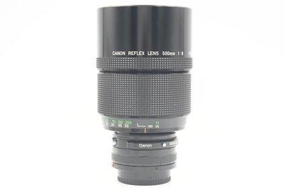 佳能 Canon REFLEX LENS 500mm F8 經典反射銘鏡 甜甜圈散景 品相優良 美品 (三個月保固)