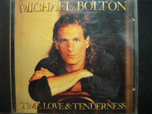 ※布箱子※二手原版CD~ Michael Bolton 【TIME.LOVE&TENDERNESS】