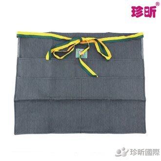 【珍昕】台灣製 牛仔四口半身錢袋(約56*42cm)/圍裙