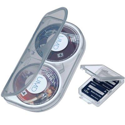 PSP 3個遊戲碟盒子PSP DUST FREE PROTECTION UMD DISC CASESUMD 碟 光碟
