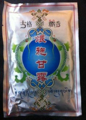 華藏香堂 古格藏香 煨施甘露餗熏香 煙供 8包一起賣
