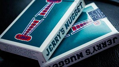 水藍色天梯牌 水藍色天梯撲克牌 湖藍色天梯牌 Jerry's Nuggets (Aqua) Playing Cards