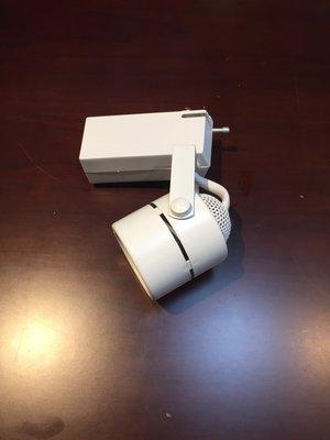 LOBBY 白色 MR16 軌道投射燈 12V 50W 含ET-E 60 電子變壓器 220V用