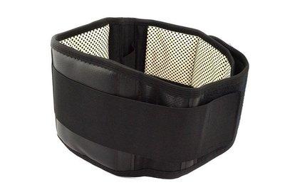 自發熱磁石保健加寬四鋼板強化型運動護腰...
