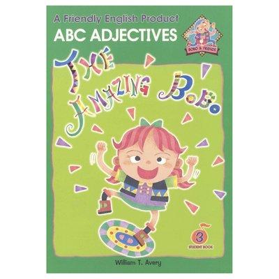 Bobo English learning for kids-Book 3(ABC Adjectives) 兒童美語教材