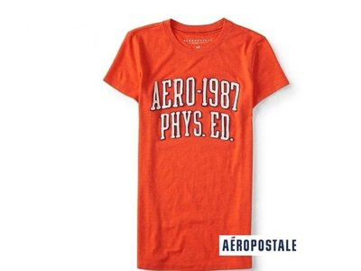 美國正品Aeropostale [Aero] 美式休閒短袖T / S ( 編號:3651 )
