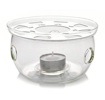 ~享購天堂~圓型 花茶壺保溫底座~送蠟燭一個~水果茶玻璃加熱座 保溫盤 蠟燭保溫爐座 咖啡壺 咖啡器具