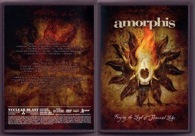 音樂居士#千湖之國 Amorphis Forging The Land Of Thousand Lakes (2) DVD