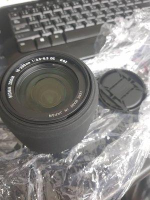 現況賣外觀沒刮傷細微入塵 SIGMA 18-200mm F3.5-6.3 DC OS HSM FOR canon