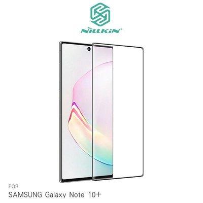 --庫米--NILLKIN SAMSUNG Galaxy Note10+ 3D DS+ MAX 玻璃貼 保護貼 全膠