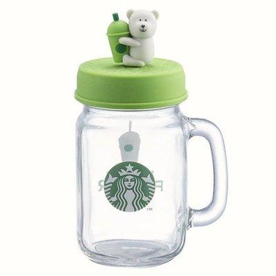 星巴克 綠bearista玻璃冰杯 starbucks 7/26上市