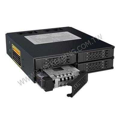 中銨 ICY DOCK MB994SP-4SB-1 2.5吋 SATA 硬碟抽取模組 MB