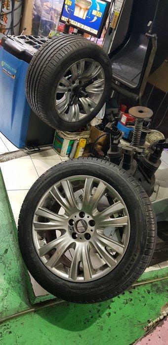 保證正品 285/45/19  德國馬牌 SSR 防爆胎  7998元 RSC 全新失壓續跑胎 最後5條  安裝服務