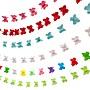 雅典生活館~紙串立體蝴蝶愛心紙拉花生日婚慶裝飾圣誕節新年年會學校布置裝飾