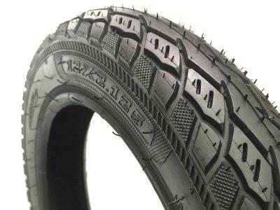 耐荷重 腳踏車 電動車輪胎 滑板車 外胎 深溝版 12 吋 寸 半 12 1/2*2.125 寬胎 14 16 童車