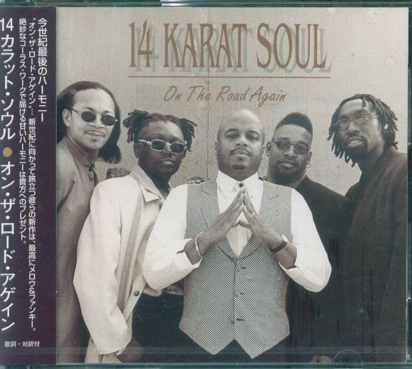 K - 14 Karat Soul - On The Road Again - 日版 1999 - NEW