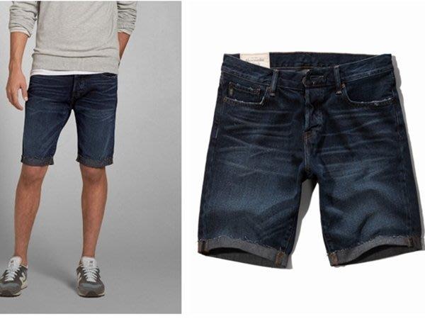 【BJ.GO】A&F CLASSIC FIT DENIM SHORTS A&F經典剪裁牛仔短褲/仿刷破
