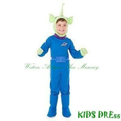 妍媽咪兒童禮服出租~迪士尼玩具總動員外星人.三眼怪造型萬聖節服裝~聖誕節表演