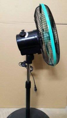『中部批發』金讚牌 14吋 360度涼風扇 電風扇 立扇 旋轉外旋式 360度循環立扇 旋轉立扇 批發 台灣製造
