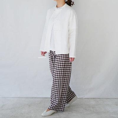 |The Dood Life|GRANDMA MAMA DAUGHTER / Japan Linen 中山領亞麻外套