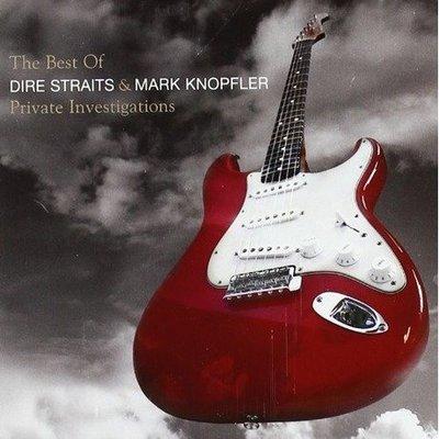 【進口版】全紀錄精選 THE BEST OF /險峻海峽合唱團與馬克諾弗勒 DIRE STRAITS-9874050