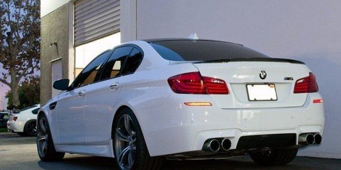 【樂駒】BMW 5 Series F10 M5 M Performance 原廠 Carbon 碳纖維 尾翼 空力 套件