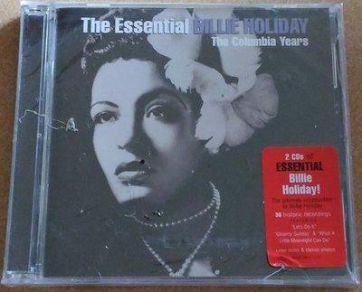 正版2CD《比莉哈樂黛》/  The Essential Billie Holiday全新未拆