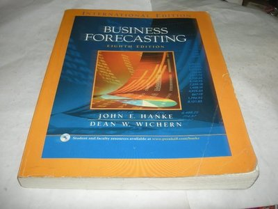 崇倫舊書坊  Business Forecasting》ISBN:0131228560