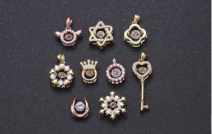 新年特賣款~每款925銀台鋯石水晶鑽項鍊
