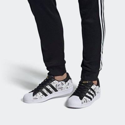 Adidas Originals SuperStar Reflective Labels 貝殼鞋 黑白 反光FV2819