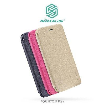 *Phone寶*NILLKIN HTC U Play 星韵皮套 側翻皮套 保護套 手機套