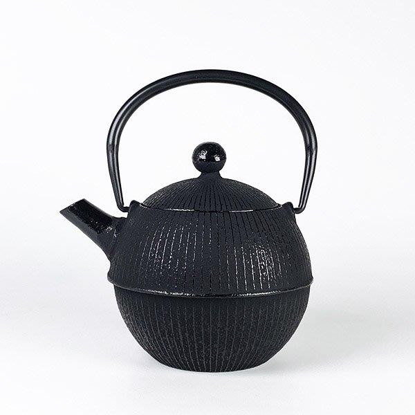 日本鑄鐵壺南部鐵器【寶星堂】手毬 急須 0.5L 附濾網 鑄鐵壺 茶壺 泡茶壺 茶具