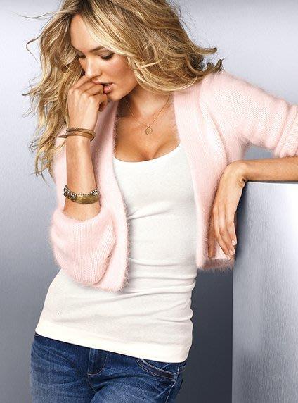 ☆°╮VS流行館╭°☆維多利亞的秘密Victoria's Secret◎安哥拉兔毛毛線毛衣罩衫外套(現貨在台)