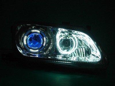》傑暘國際車身部品《 SENTRA 180 N16 晶鑽 H1 魚眼雙CCFL光圈大燈(採用耐熱飾圈)
