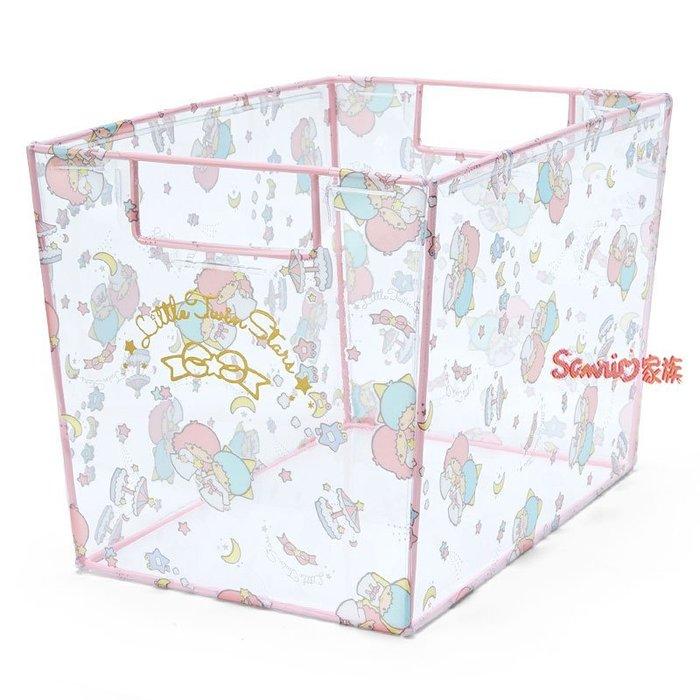 《東京家族》日本 三麗鷗 kikilala 雙子星 透明 收納箱 儲物箱 置物箱