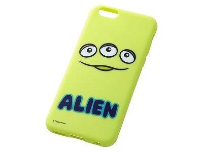 尼德斯Nydus~* 日本 迪士尼 玩具總動員 三眼怪 外星人 軟殼 手機殼 大臉款 4.7吋 iPhone6