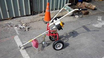 全新日本製造速霸陸(SUBARU)三輪推式割草機(輕巧/靈活/折疊/障礙物多的環境設計-免運費