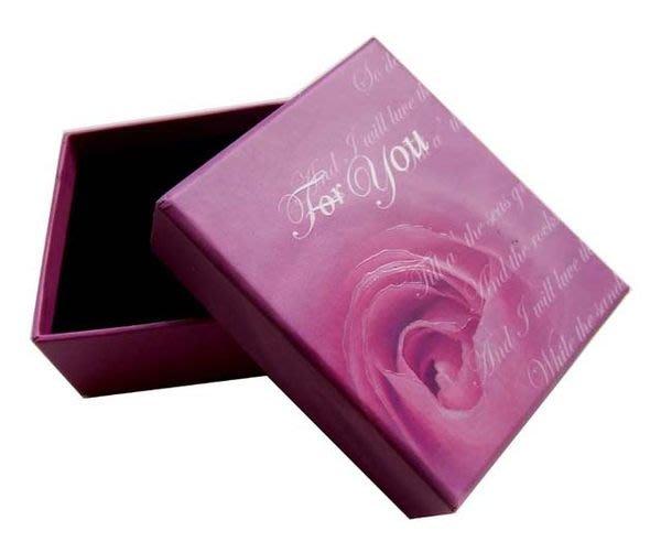 ☆創意小物店☆玫瑰花飾品盒飾品盒/戒指盒/項鍊盒/耳環盒/禮品盒/一個(不含內容物)