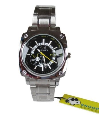 【卡漫迷】 Snoopy 手錶 日期 ㊣版 史努比 史奴比 中性錶 女錶 男錶 有日曆功能 ~ 1 4 9 0 元