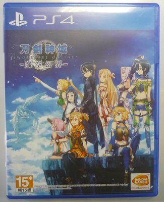 PS4 刀劍神域 虛空幻界 (中文版)**(二手片-光碟約9成8新)【台中大眾電玩】