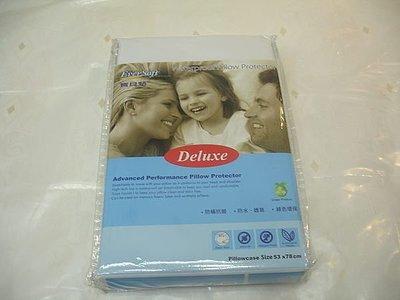 美國保潔墊第一品牌 Ever Soft 100%全面防護 防蹣透氣防水枕頭保潔墊(一入)