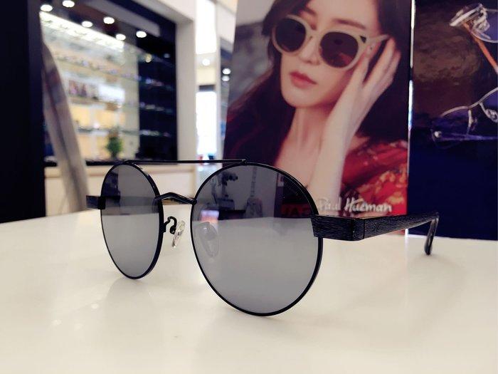 Paul Hueman 韓國熱銷品牌 圓形太陽眼鏡 徐志摩風格的復古創新設計 PHS1094A  1094