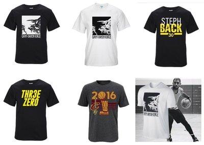 騎士冠軍 Curry 勇士KD 糖果雪花色 MVP短袖 全棉上衣 短袖T恤 運動T恤 球衣 NBA【M19】