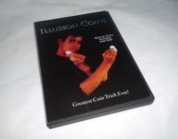 【意凡魔術小舖】魔術道具-Illusion Coins硬幣挪移硬幣幻象--3fly+DVd摩根版本 dvd+道具版