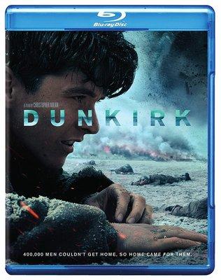 BD 全新美版【敦克爾克大行動】【Dunkirk】Blu-ray 藍光